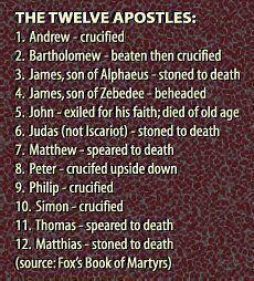 12-apostles