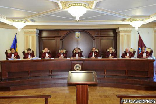 Curtea Constitutionala a Romaniei Romanian Supreme Court FOTO AGERPRES April 19, 2016