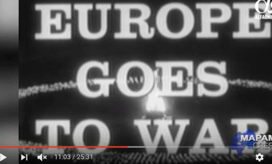 Europe Goes to war Alfa Omega TV  spet 2016