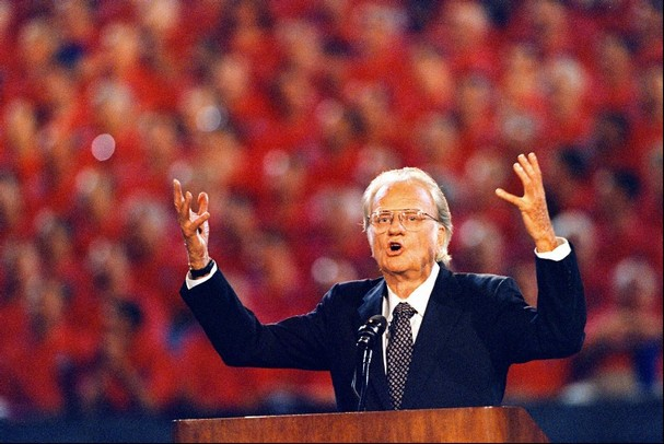 billy graham Kent Phillips 1996